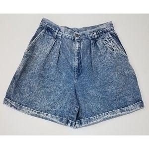 Vintage Dockers High Waisted Denim Jean Shorts